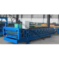 Wholesale High Speed Standing Seam Double Layer Roll Forming Machine , Roofing Tile Making Machinery from china suppliers
