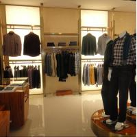 Wholesale Wooden Material Garment Shop Fittings Eco - Friendly Durable With Display Cabinet from china suppliers