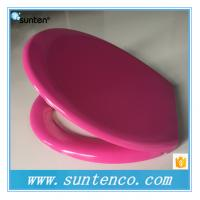 Wholesale Oval Universal Standard Soft Close Duroplast Purple Color Toilet Seat Prices from china suppliers