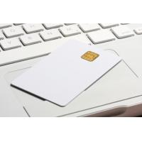 Quality standard 0.76MM white PVC Loyalty cards with RFID smart chip contacted for sale