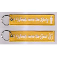 China Four Wheels Move The Body Two Wheels Move The Soul Motorbike KeyTags Motorcycle Keychain for sale