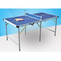 Wholesale Foldable Junior Table Tennis Table 5* 20Mm Frame Size Easy Install Portable For Home from china suppliers