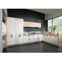 Wholesale European Solid Wood UV Kitchen Cabinet With Soft Close Drawers And Hinges from china suppliers