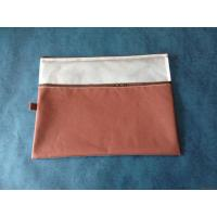 Wholesale Pvc & Oxford-cloth Mesh Double-zippers Bag from china suppliers