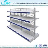 Quality Floor Standing Convenience Store Racks, Heavy Duty Supermarket Display Stands for sale
