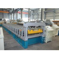 Wholesale High Speed Metal Roof Roll Forming Machine with Mitsubishi PLC , Roll Forming Equipment from china suppliers