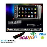Wholesale 1080P High Resolution Android Double Din DVD Digital With 6.2 Inch Digital Touch Screen from china suppliers