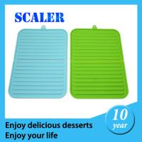 Wholesale Silicone Bakeware Set  RTV Heat Resistant Promotion silicone folding mat Promotional Silicon Mat 167*235mm for baking from china suppliers