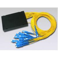 Wholesale PLC 1x12 SC/UPC SM Fiber Optic Splitter applied in FTTX / PON networks from china suppliers