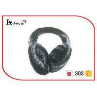 Wholesale Soft Bicolor Winter Ear Muffs Faux Fur Plastic Band For Ladies from china suppliers