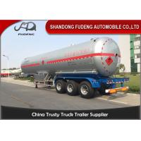 Wholesale 58800 Liters LPG Tank Trailer 40 Foot LPG Storage Tank Steel / Aluminum Material from china suppliers