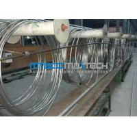 Buy cheap TP304 Stainless Steel Coiled Tubing ASTM A269 from wholesalers