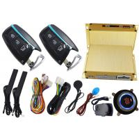 Wholesale Smart Car Alarm System With RFID Emergency Unlock And Push Button Start Stop Engine from china suppliers