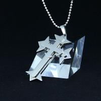 Wholesale Fashion Top Trendy Stainless Steel Cross Necklace Pendant LPC435 from china suppliers