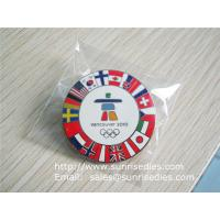 Wholesale Custom made enamel pin badges, China metal gift factory for cheap metal badge pins from china suppliers