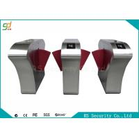Wholesale Subway Smart RFID Flap Barrier Gate Turnstile Anti-rushing Attendance from china suppliers