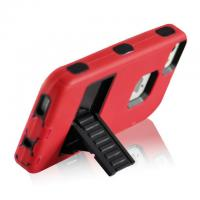 Wholesale Black&Red Robot Designer Defender Cell Phone Covers Stand Holder For iphone 5s from china suppliers