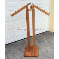 Wholesale Floor Standing Retail Clothing Racks 4 - Way Oakwood High End Store Fixtures from china suppliers