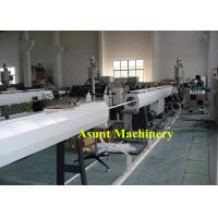 Wholesale High Output 20-63mm Single Screw Water PE Pipe Production Line 20*3*2meters from china suppliers