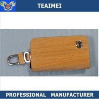 Wholesale Promotional Custom Kia / Volvo Leather Key Holder Key Chain Bag from china suppliers