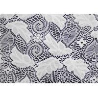 Wholesale 100% Polyester Wedding Dress Lace Fabric Embroidered Fabric By The Yard from china suppliers