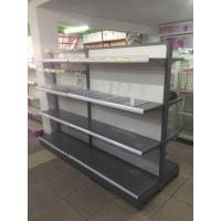 Wholesale Double Sided Metal Supermarket Shelf Store Retail Fixture Shop Display Rack from china suppliers