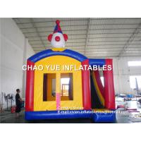 Wholesale Commercial Clown Inflatable Bouncy Castle Inflatable Combo With Repairs Kits , 5L X 5W X 4.5H Meter from china suppliers