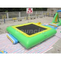 Wholesale Square Shape Good Airtightness Inflatable Water Trampoline For Lake from china suppliers