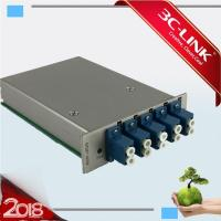 Wholesale 100M to 40G Platform 4Ch Mux/Demux CWDM Card DWDM MUX DEMUX Low Insertion Loss from china suppliers