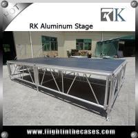Wholesale Aluminium Adjustable Height Performance Portable stage Mobile stage decoration themes from china suppliers