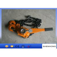 Wholesale Cable Pulling Tools Hand Chain Hoist / 3 Ton Level Chain Hoist Block from china suppliers