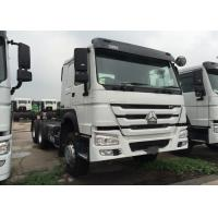 Wholesale LHD 6 X 4 336HP 10 Wheels HOWO Tractor Truck HW76 Cab Single Berth Safety from china suppliers