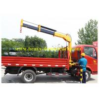 Wholesale 4x4 5 tons Sany crane Truck Mounted Hydraulic Crane 2190 - 5200 mm Outtrigger span from china suppliers