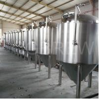 Wholesale 1000L craft beer brewery equipment with stainless steel conical fermenters from china suppliers