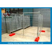 Buy cheap Hot Dipped Galvanized Temporary Fencing Panels Australia Standard from wholesalers