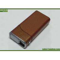 Buy cheap Cigarette Case Portable Power Bank 4400mAh With Built - In Smart Chip from wholesalers
