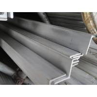 Wholesale Cold Drawn SS Angle Iron Hairline Finished , Equal Angle Steel from china suppliers