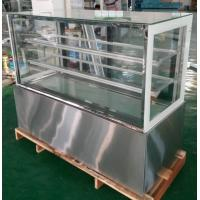China Customized floor standing or table top cake showcase/display freezer/bakery display cabinet on sale