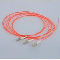 Wholesale LC/UPC multi-mode 62.5/125 simplex 2.0mm orange LSZH optical fiber pigtail from china suppliers