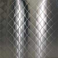Wholesale Embossed stainless steel 4'x8',SS304,THICKNESS 0.6MM,1.0MM,1.2MM from china suppliers