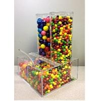 Wholesale Eco-Friendly Candy Acrylic Display Cases Storage Box Dispenser from china suppliers