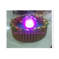 Wholesale Indoor / Outdoor Crystal Mushroom Water Fountain Set With Lights , 68cm -100cm from china suppliers