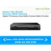 Wholesale HDMI / USB / RCA Interface DVB S2 Set Top Box HD With CAS 4.2 Intergited from china suppliers