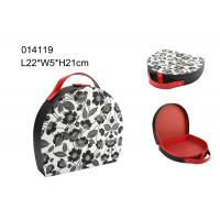 Wholesale Portable Packing Mini Round Travel Jewelry Case , Jewelry Travel Cases Storage Box from china suppliers