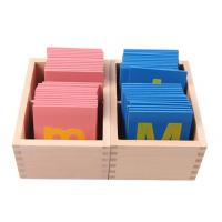 Wholesale montessori-Lower and Capital Case Sandpaper Letters from china suppliers