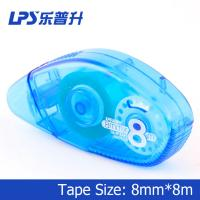 Wholesale Customized Blue Colored Glue Tape Pens Recycled Plastic 8Mm Width from china suppliers