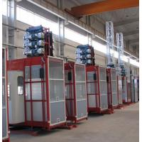Wholesale Double Cabin Personnel And Materials Hoist , Construction Material Lifting Hoist from china suppliers