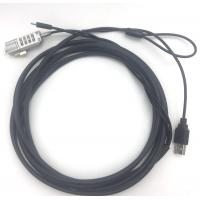 Wholesale Steel Wire Rope Safety Security Cable Lock 2 In 1 Usb Power Adapter Laptop Cable Lock from china suppliers