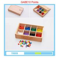 Wholesale pre school professional froebel gifts wooden educational toys froebel GABE 10 points from china suppliers