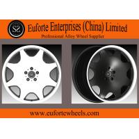 Quality Susha Wheels - Plate Shape Aluminum Alloy Forged Wheels Black Mirror Face 8.5 - 12 Inch Width for sale